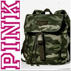 PINK by Victoria's Secret Camouflage Backpack